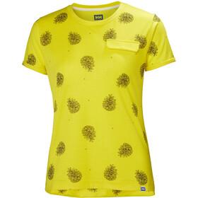 Helly Hansen Lomma T-Shirt Women dandelion print